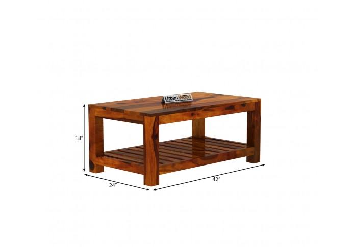 Lumber Coffee Table <small>(Honey Finish)</small>