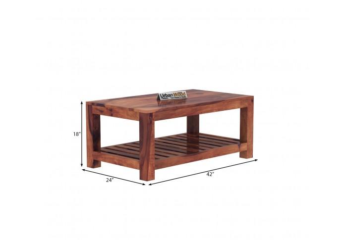 Lumber Coffee Table ( Teak Finish )