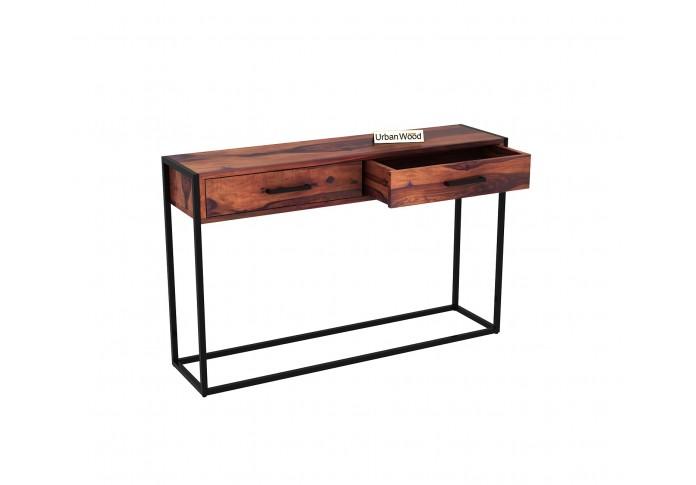 Carve Console Table ( Teak Finish )