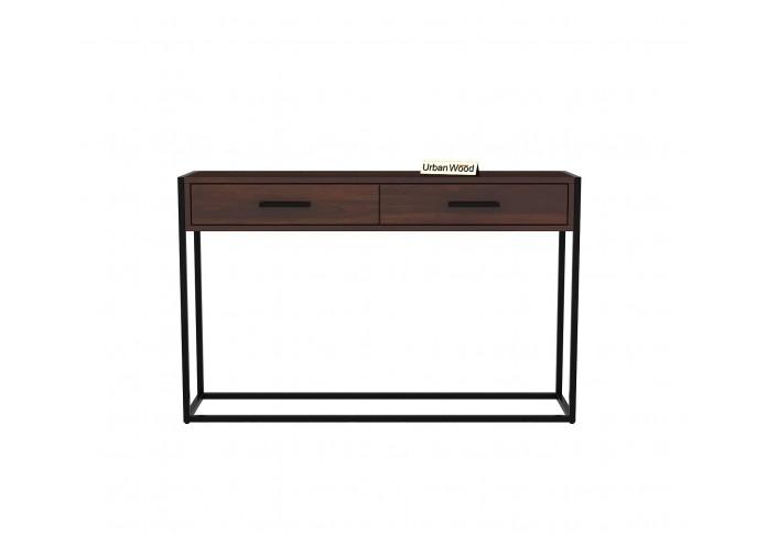 Carve Console Table <small>( Walnut Finish )</small>