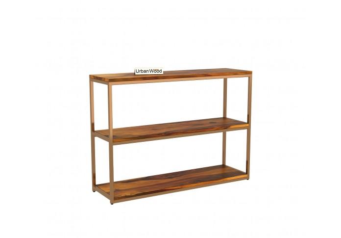 Cedar Console Table ( Honey Finish )
