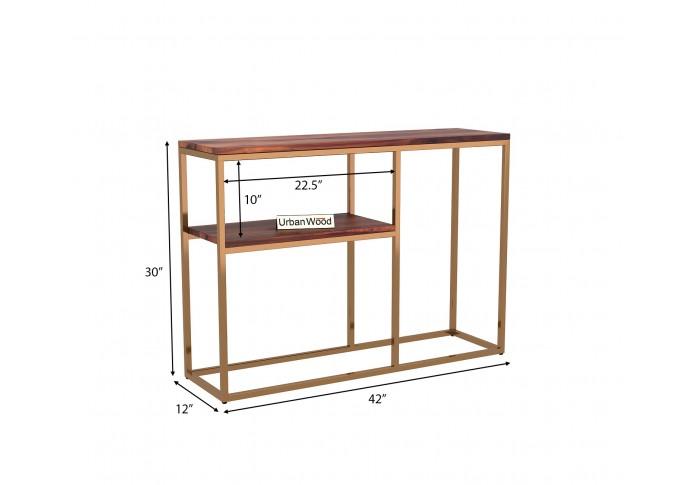 Epic Console Table <small>( Teak Finish )</small>