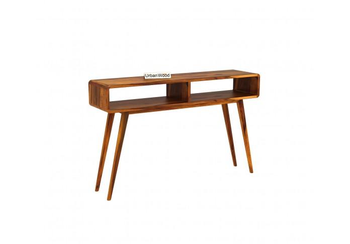 Mapple Console Table <small>( Honey Finish )</small>