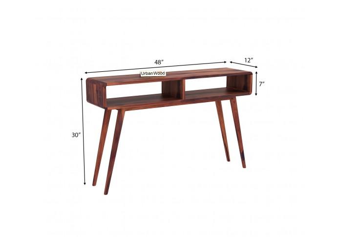 Mapple Console Table <small>( Teak Finish )</small>