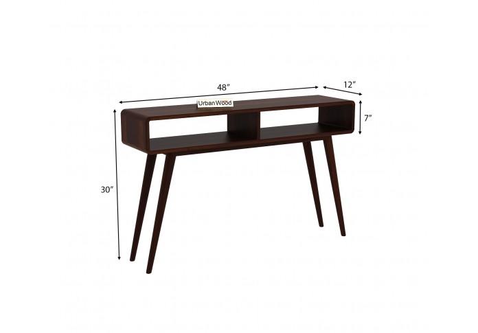 Mapple Console Table ( Walnut Finish )