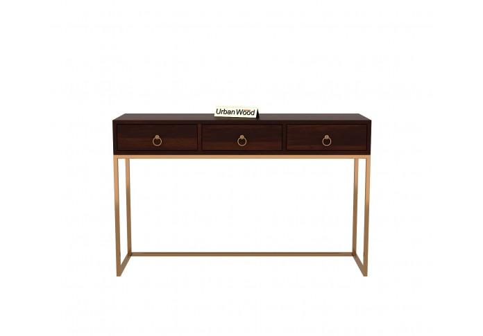 Tanner Console Table <small>( Walnut Finish )</small>