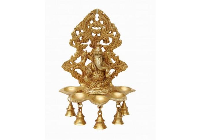 Brass Ganesha Dhoop Batti Stand