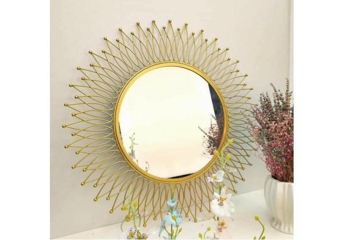 Metal Golden Mirror wall decor