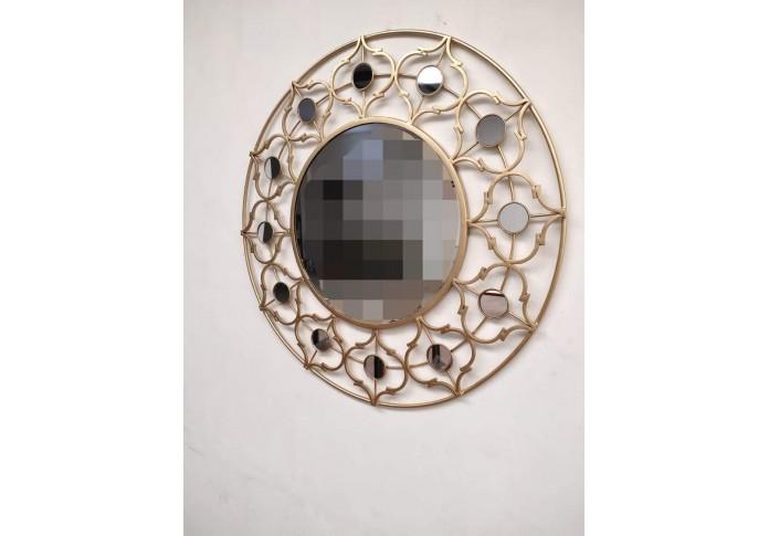 Metal awesome mirror wall decor