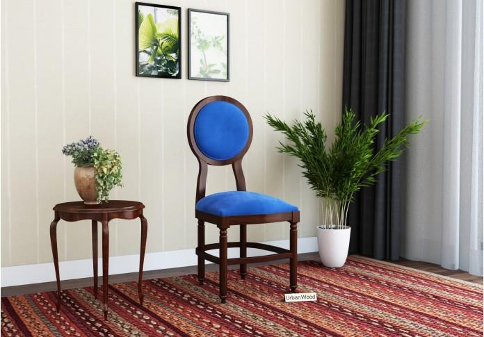 Oreo Dining chair <small>( Velvet, Sapphire blue )</small>