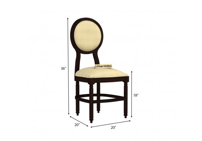 Oreo Dining chair <small>( Cotton, Sepia cream )</small>