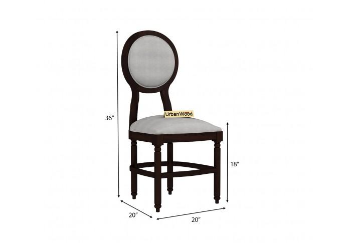 Oreo Dining chair ( Cotton, Steel grey )