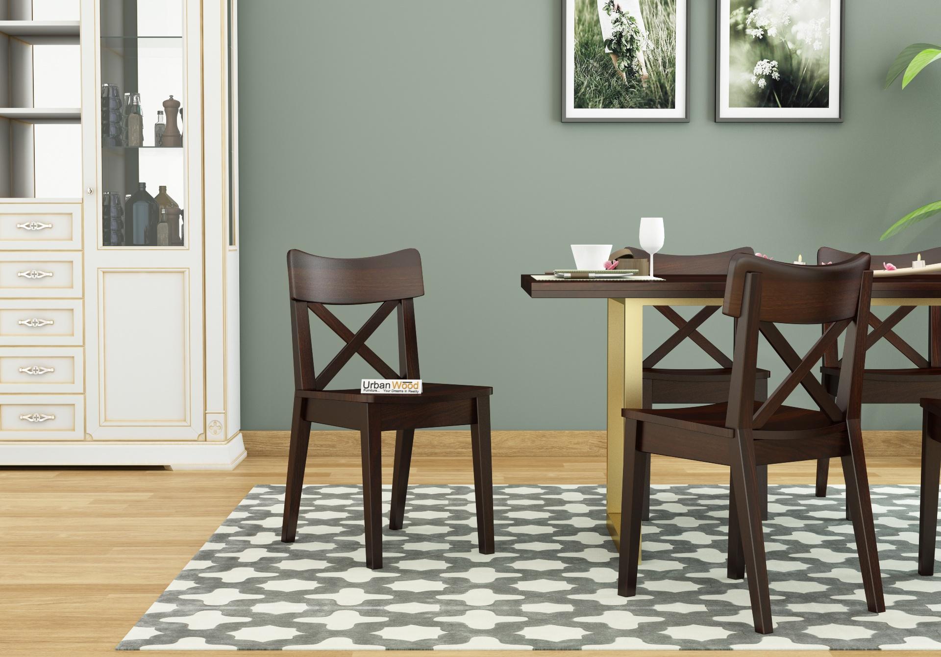 Tale Dining chair <small>( Walnut Finish )</small>
