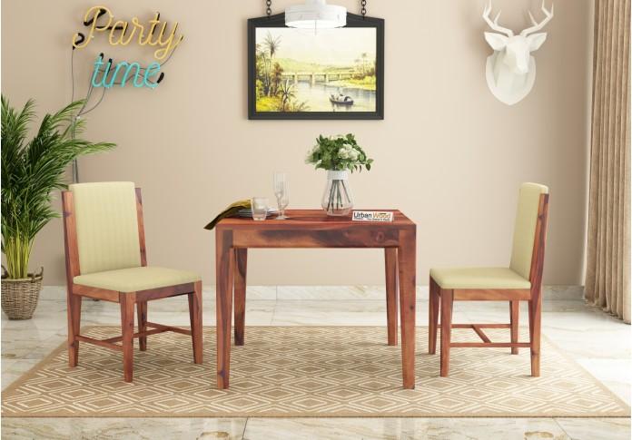 Deck 2-Seater Dining Table Set ( Teak Finish )
