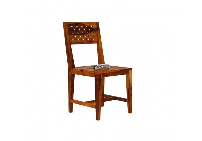 Woodora 2- Seater Dining Set ( Honey Finish )