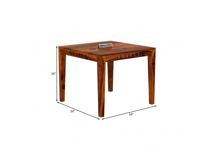 Woodora 2- Seater Dining Table ( Honey Finish )