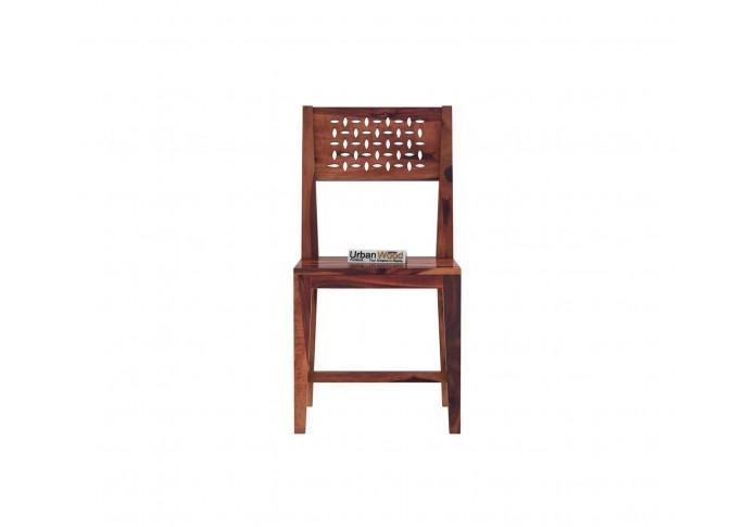 Woodora 2- Seater Dining Set ( Teak Finish )