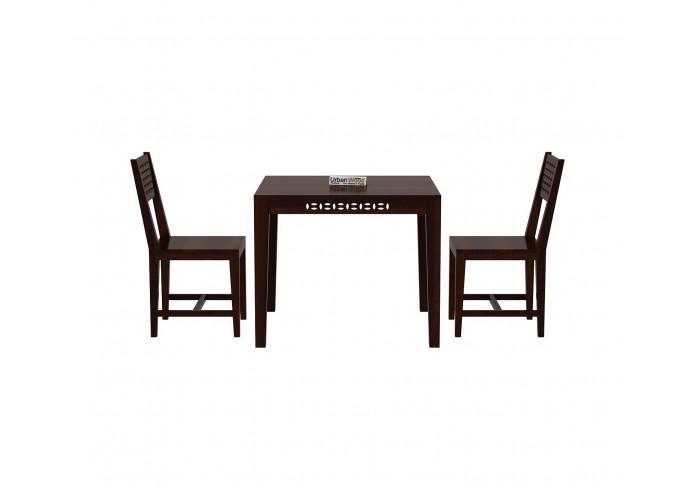 Woodora 2- Seater Dining Set ( Walnut Finish )