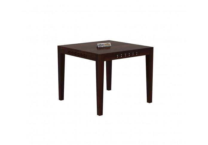 Woodora 2 Seater Dining Set with Cushion (Walnut Finish)