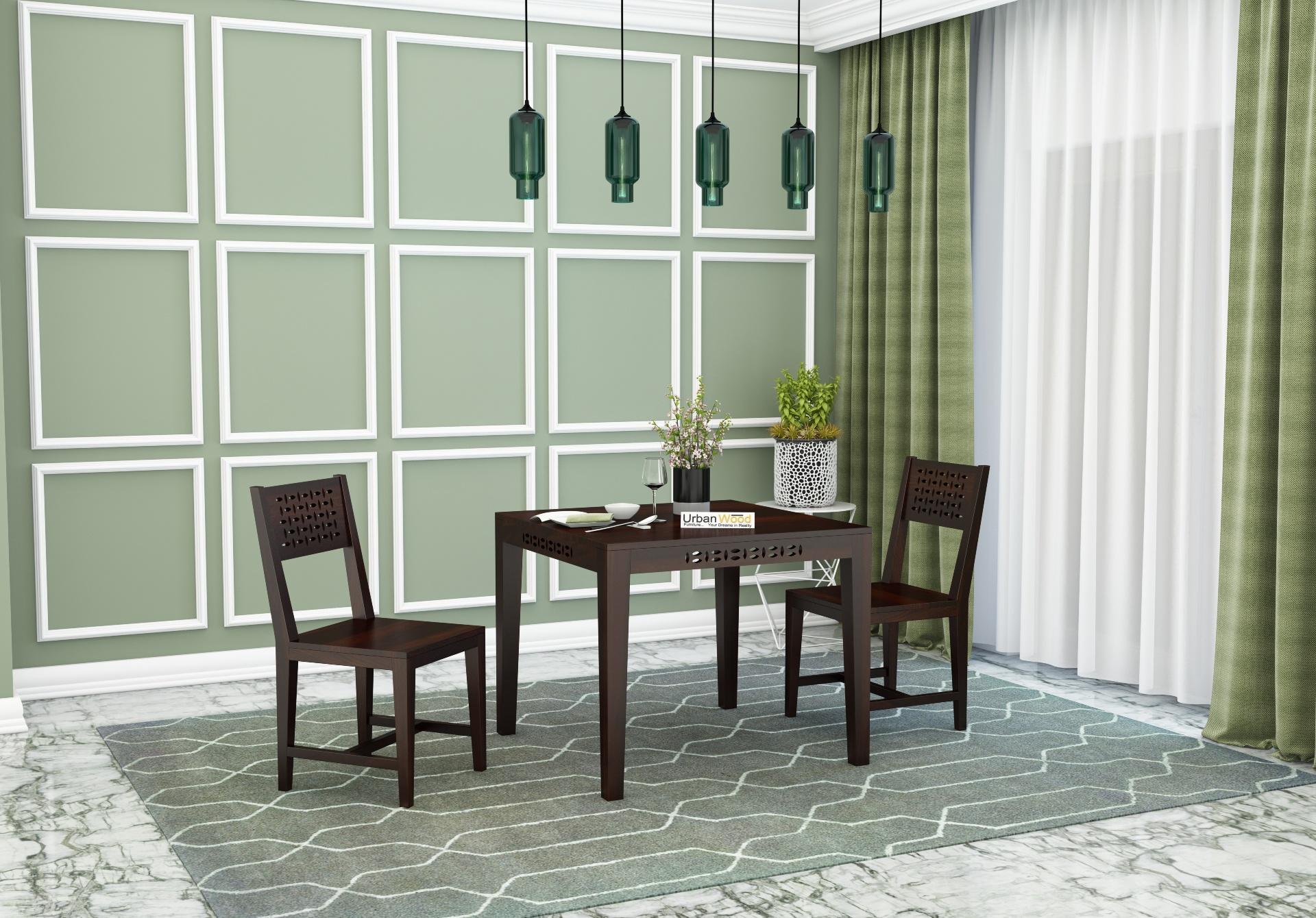 Woodora 2- Seater Dining Set <small>( Walnut Finish )</small>