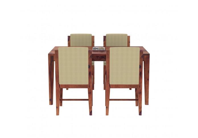 Deck 4-Seater Dining Table Set ( Teak Finish )