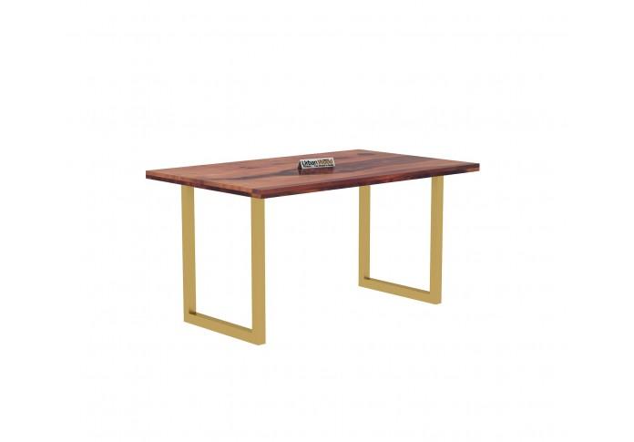 Tale 4-Seater Dining Table ( Teak Finish )