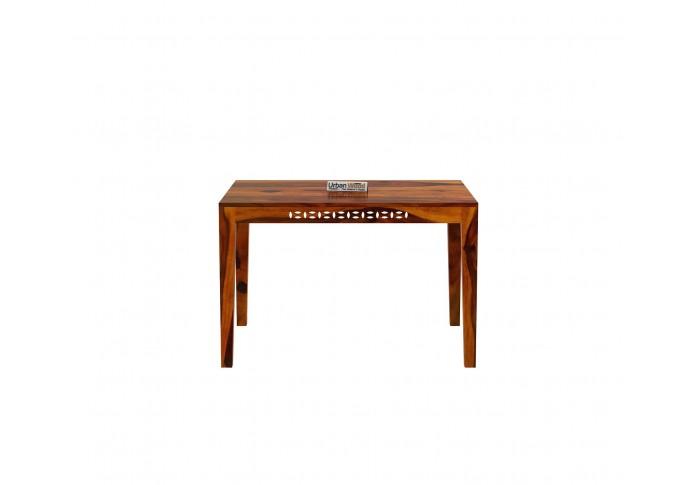 Woodora 4-Seater Dining Table ( Honey Finish )