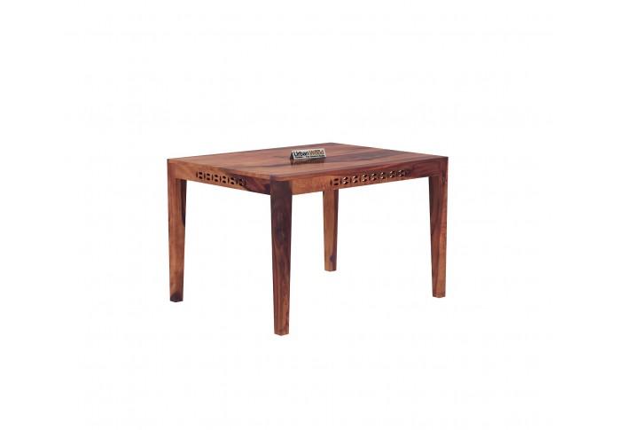 Woodora 4-Seater Dining Table ( Teak Finish )