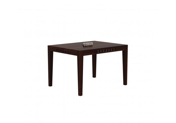 Woodora 4-Seater Dining Table <small>( Walnut Finish )</small>