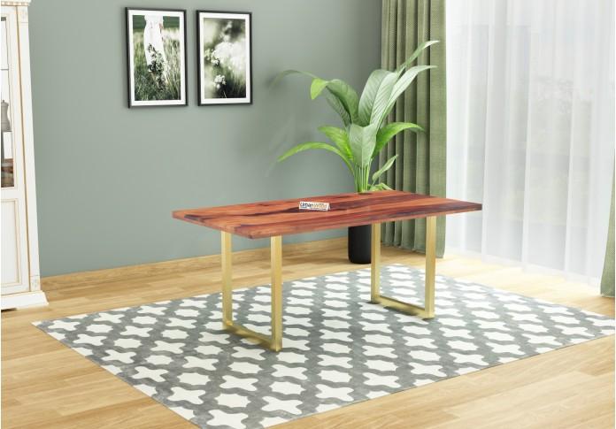 Tale 6-Seater Dining Table ( Teak Finish )