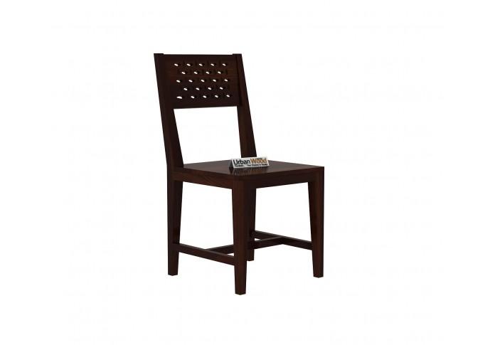 Woodora 6-Seater Dining Set With Bench ( Walnut Finish )
