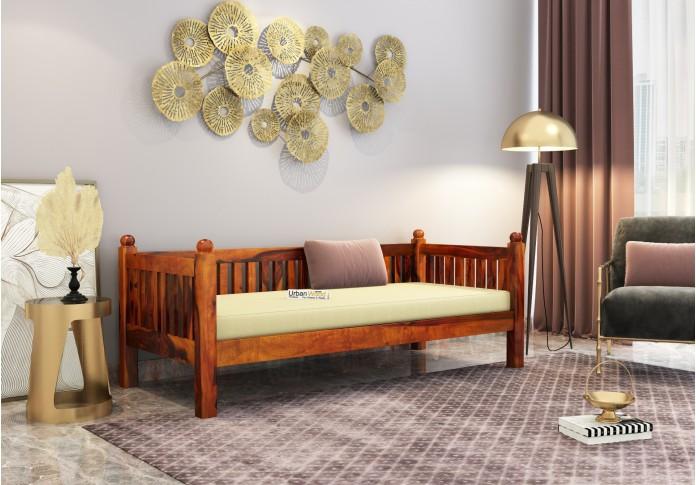 Smelt Diwan Bed <small>( Honey Finish )</small>
