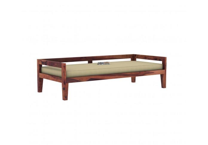 Joe Diwan Bed <small>( Teak Finish )</small>