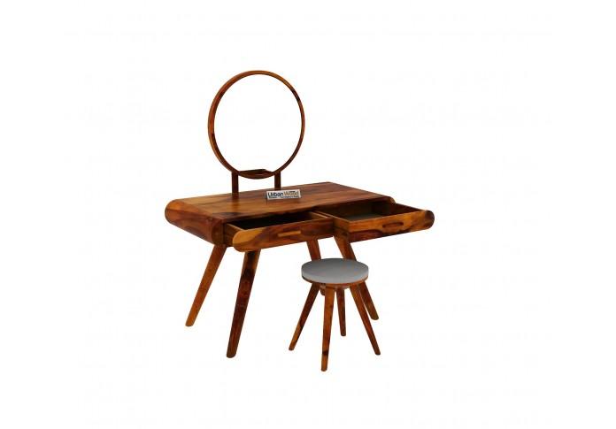 Sam Dressing Table ( Honey Finish )