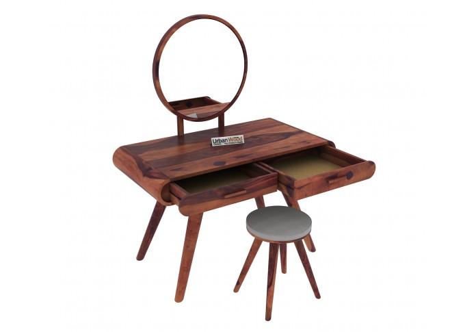 Sam Dressing Table <small>( Teak Finish )</small>