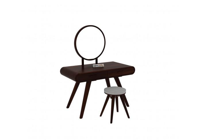Sam Dressing Table ( Walnut Finish )