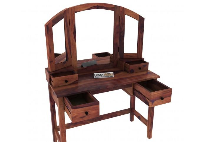 Taylor Dressing Table <small>( Teak Finish )</small>