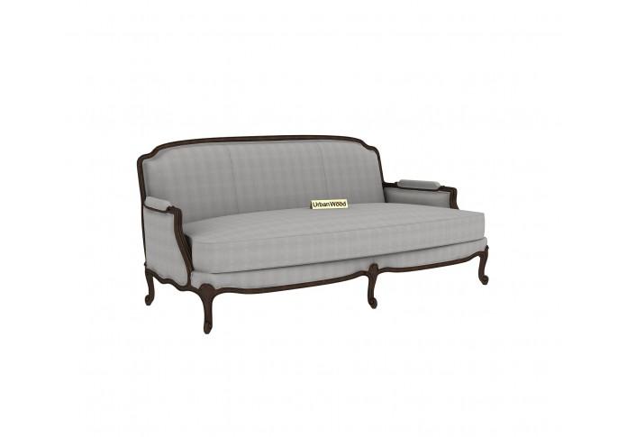 Abro 3 Seater Sofa (Cotton, Steel gray)