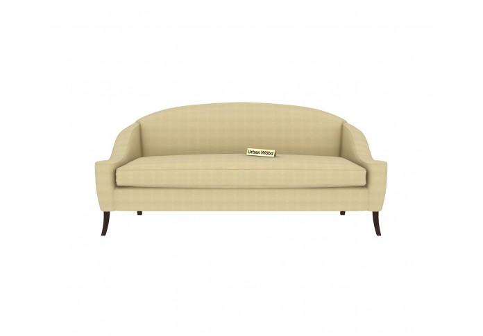 Crimson 3 Seater Sofa <small>(Cotton, Sepia cream)</small>