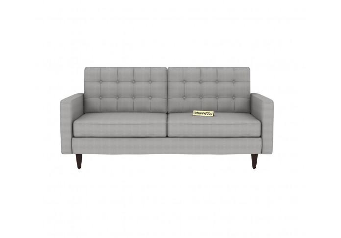 Hamper 3 Seater Sofa (Cotton, Steel gray)