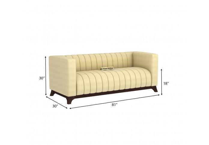 Lotus 3 Seater Sofa <small>( Cotton, Sepia Cream )</small>