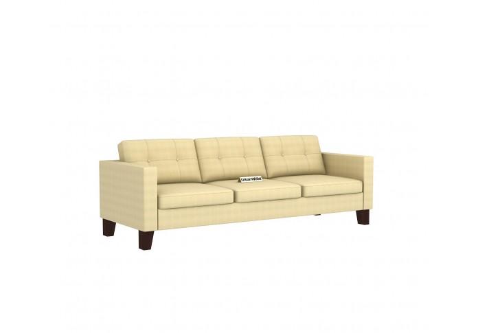 Shack 3 Seater Sofa <small>( Cotton, Sepia Cream )</small>