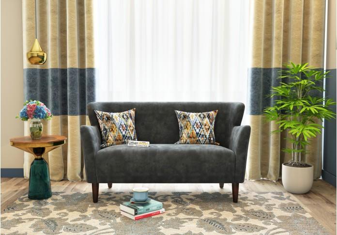Adri Loveseats (Fabric, Stone Grey)