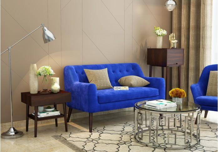Orama Loveseats (Fabric, Saphire Blue)