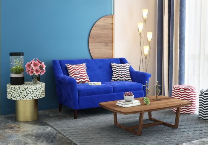 Orzo Loveseats ( Fabric, Saphire Blue )