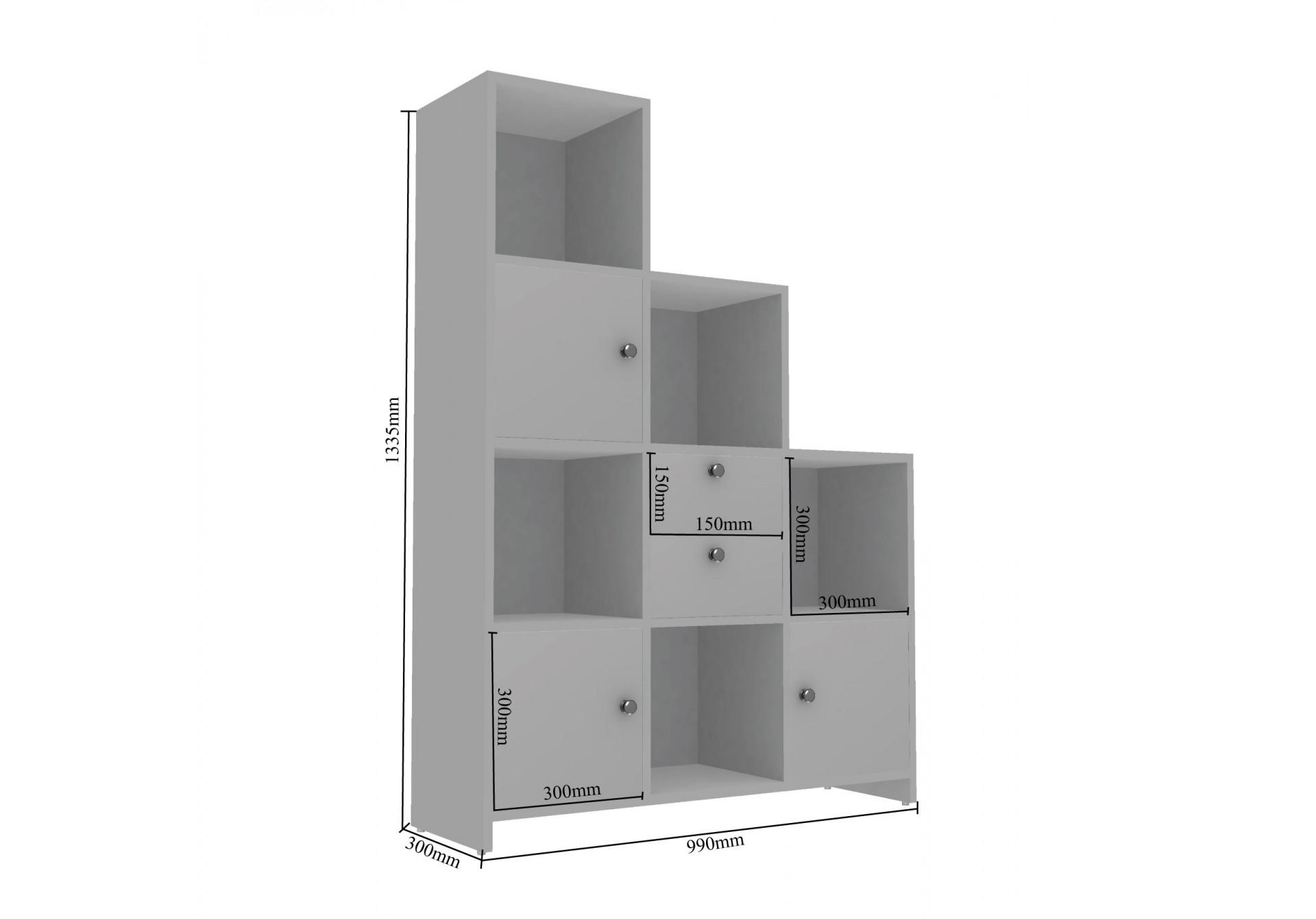 Ead Modular Bookshelf <small>( Walnut )</small>