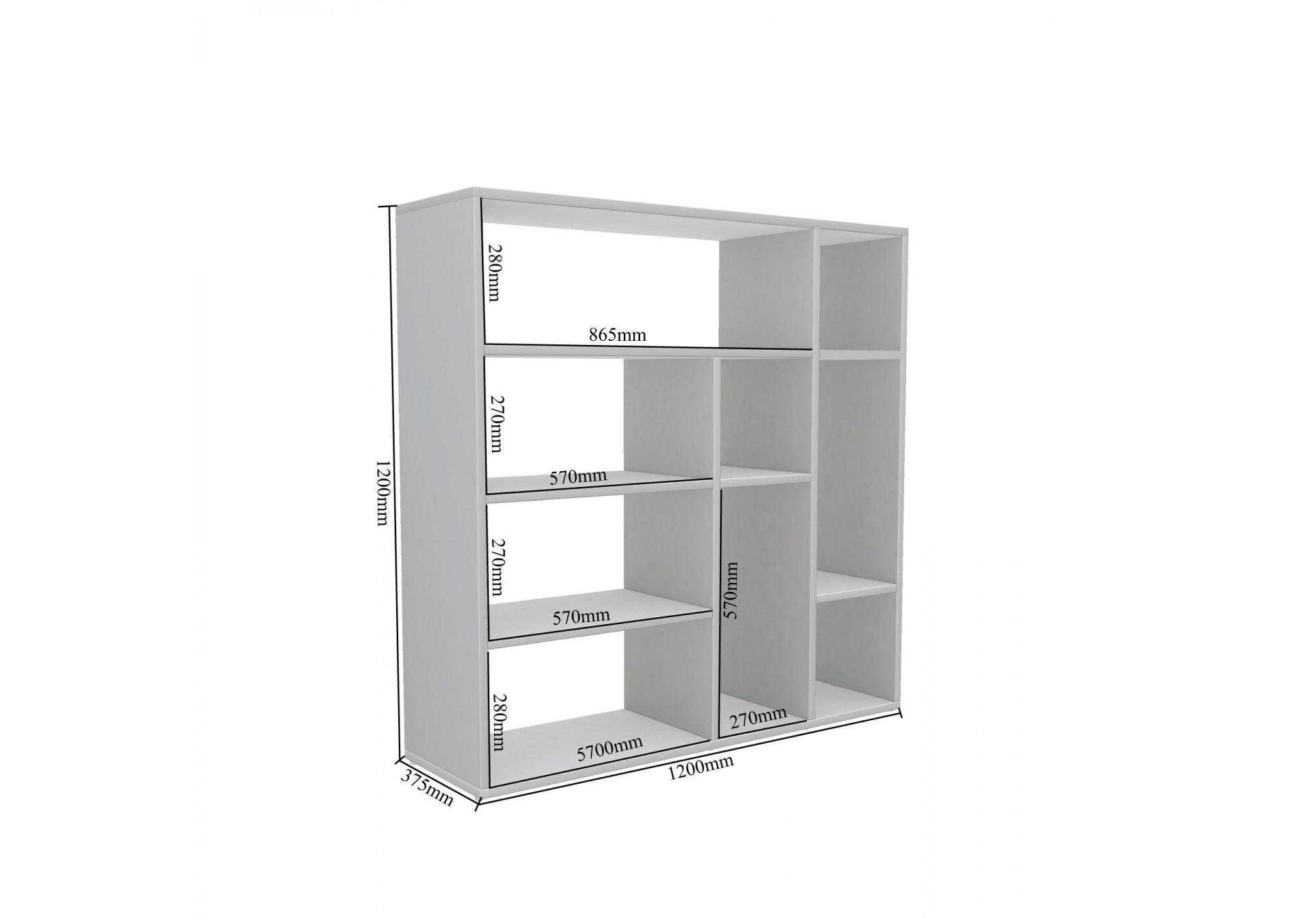 Etro Modular Bookshelf <small>( Exotic Teak )</small>