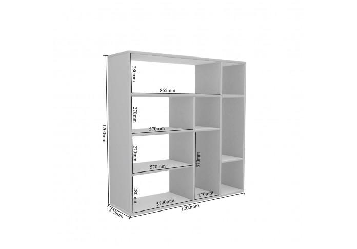 Etro Modular Bookshelf ( Exotic Teak )