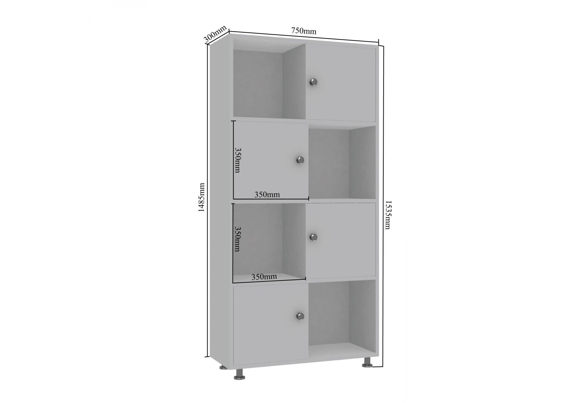 Ory Modular Bookshelf <small>(Multicolor)</small>