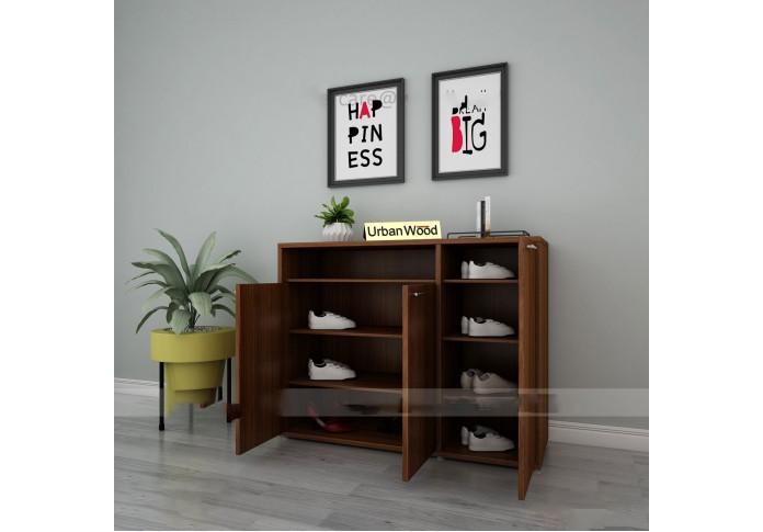 Edi Modular Shoe Racks ( Walnut )